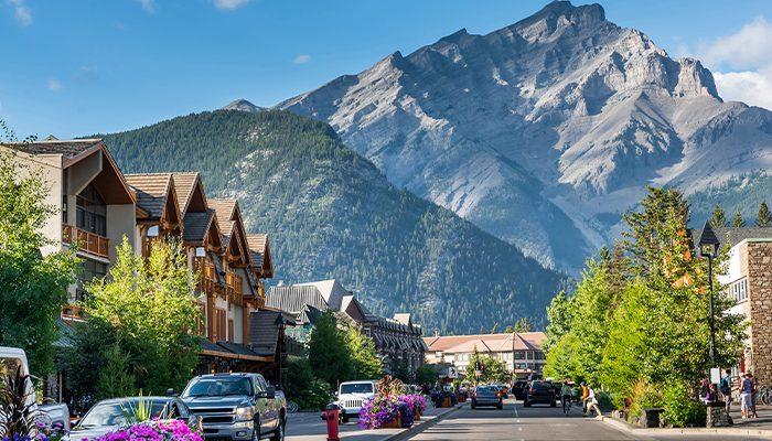 Banff Ave Main Street